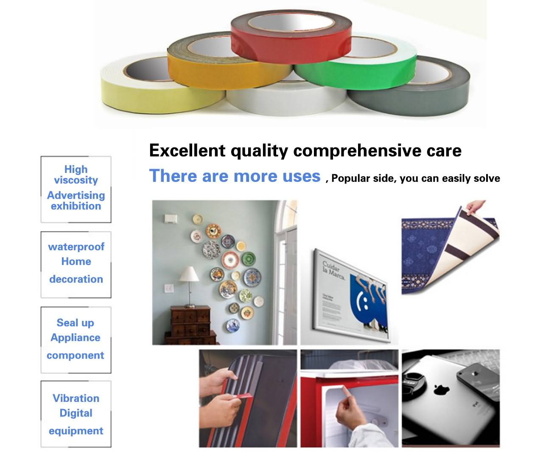 PE foam tape  high quality foam tape supplier