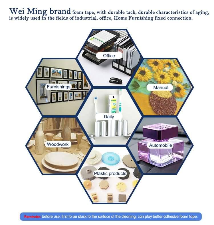 VHB Foam tape foam tape manufanturer